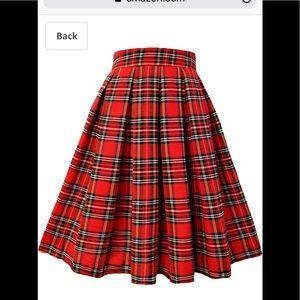Dresses & Skirts - XXL  high waisted plaid skirt